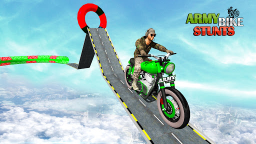 Army Stuntman Bike Stunt Games 1.5 screenshots 1