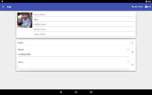 Contacts VCF 4.1.67 Screenshots 9