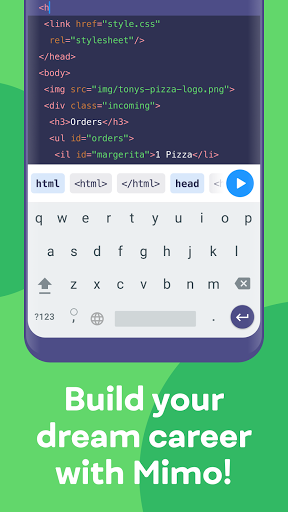 Mimo: Learn coding in HTML, JavaScript, Python android2mod screenshots 6