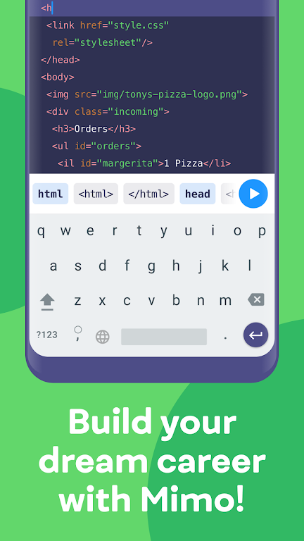 Mimo: Learn coding in HTML, JavaScript, Python poster 6