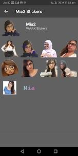 Mia Khalifa Stickers (WAStickerApps) 3
