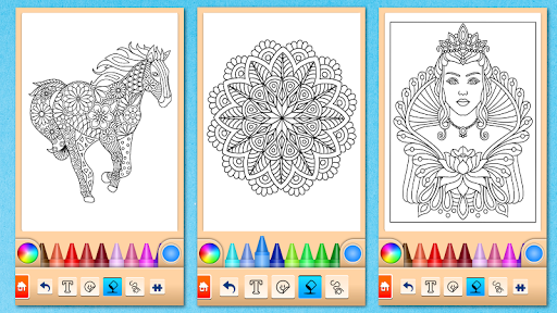 Mandala Coloring Pages 15.2.0 screenshots 7