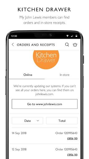 John Lewis & Partners modavailable screenshots 4