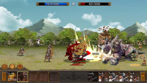Battle Seven Kingdoms : Kingdom Wars2 android2mod screenshots 1