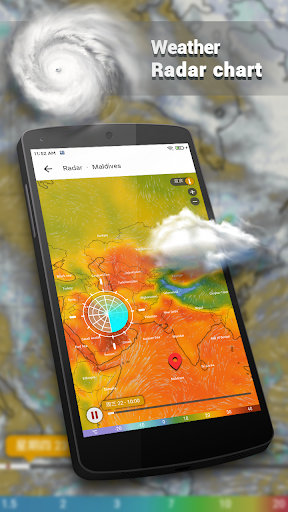 Weather Forecast - Live Weather Radar app 1.2.9 Screenshots 4