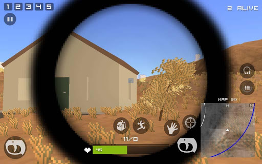 Grand Pixel Royale Battlegrounds Mobile Battle 3D  screenshots 4