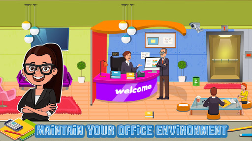 My Office Pretend Lifestyle: Play Town Busy Life screenshots 9
