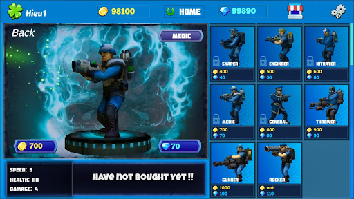 Heroes Strike PvP: MOBA and Battle Royale modavailable screenshots 4