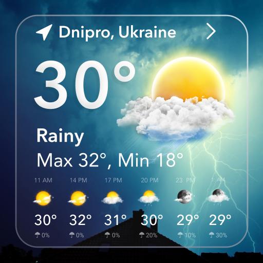 Live Weather Forecast & Radar
