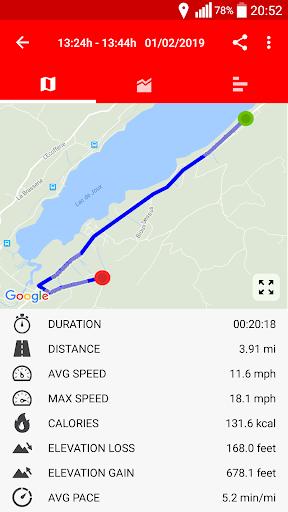 Cycling - Bike Tracker modavailable screenshots 2