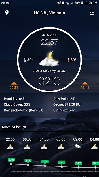 Captura 2 de Weather - Weather Real-time Forecast para android
