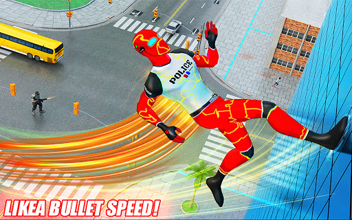 Top Speed Hero Police Robot Cop Gangster Crime 3.2 screenshots 6