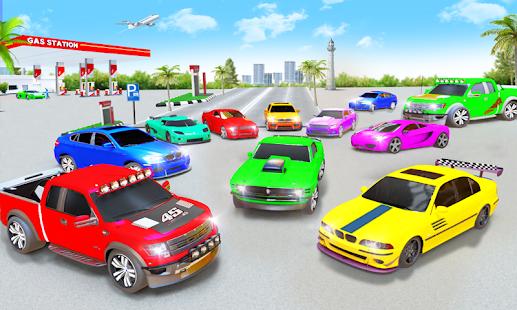 Gas Station Car Driving Simulator Car Parking Game  Screenshots 5