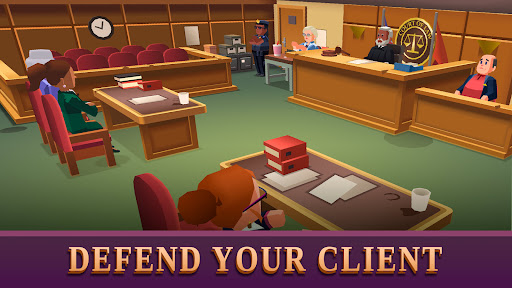 Law Empire Tycoon - Idle Game Justice Simulator  screenshots 1