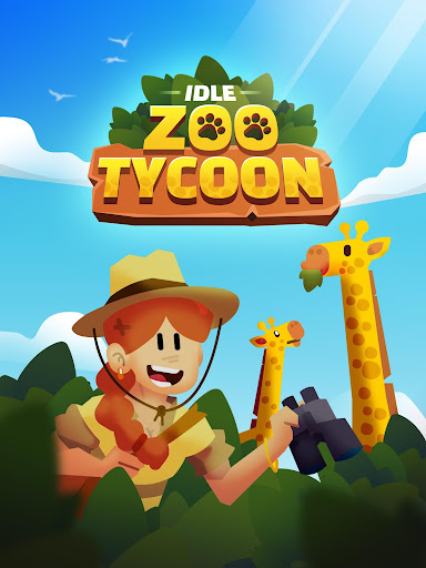 Code Triche Idle Zoo Tycoon 3D - Animal Park Game APK MOD (Astuce) screenshots 1