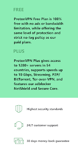Proton VPN - Free VPN, Secure & Unlimited Screenshot