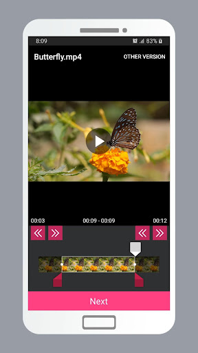 Smart Video Crop - Crop any part of any video 2.0 Screenshots 8