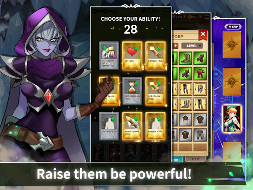 Epic Heroes Adventure : Action & Idle Dungeon RPG android2mod screenshots 9