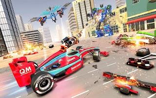 Eagle Robot Car Game – Formula Car Robot Games