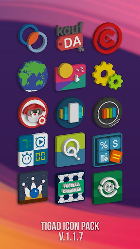 Tigad Pro Icon Pack apktram screenshots 5