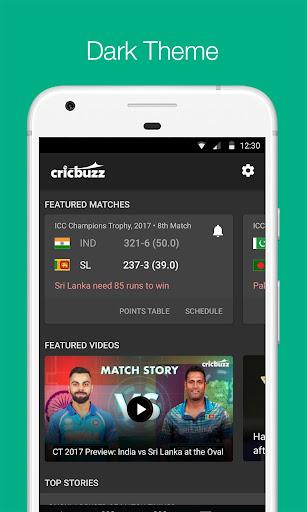 Cricbuzz - Live Cricket Scores & News screen 1
