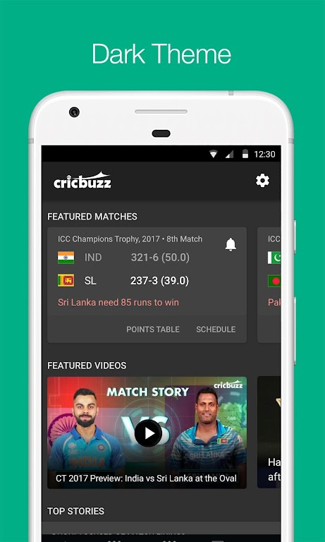 Cricbuzz - Live Cricket Scores & News  poster 1