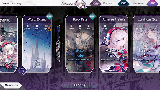 Arcaea – New Dimension Rhythm Game MOD (Content Unlocked) 3