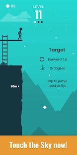 Stickman Cliff Flip Diving