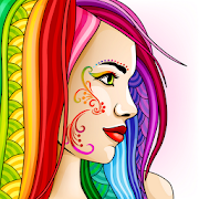 ColorSky: free antistress coloring book for adults