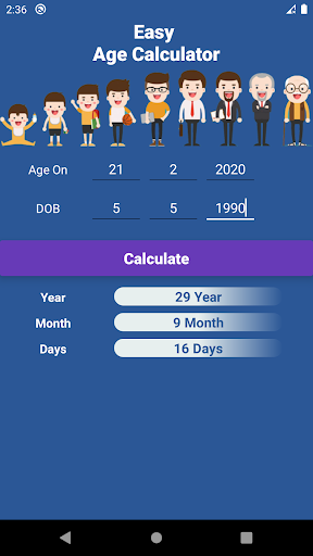 Easy Age Calculator  screenshots 14