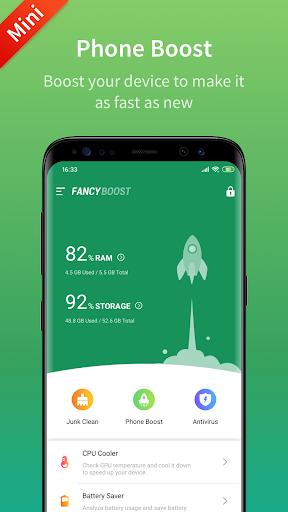 Fancy Booster - Cleaner, Antivirus & Speed Up apktram screenshots 1