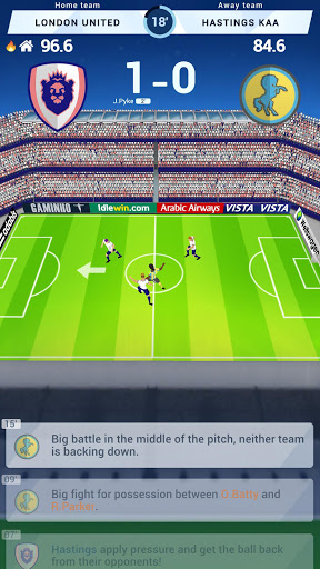 Idle Eleven - Be a millionaire soccer tycoon  screenshots 2