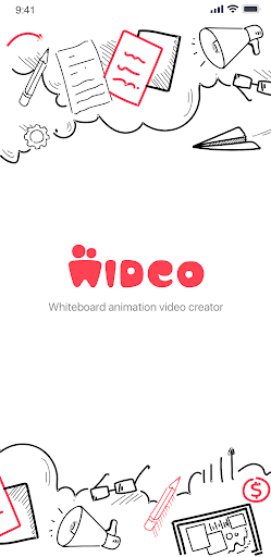 Wideo - Whiteboard Doodle Animation Video Maker 1.0.5 Screenshots 1