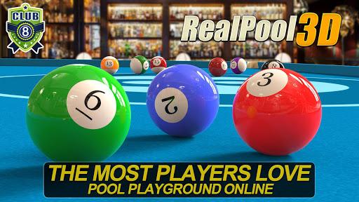 Real Pool 3D - Jeu billard populaire gratuit 2019  APK MOD (Astuce) screenshots 1