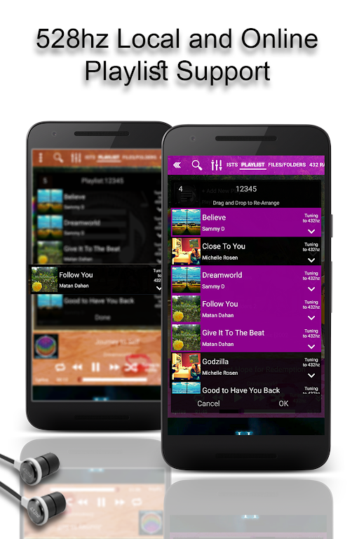 528 Player Pro - Lossless 432hz Audio Music Player – Apps on Google Play poster 5