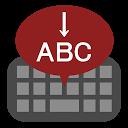 Klavaro ABC ŝparanta spacon