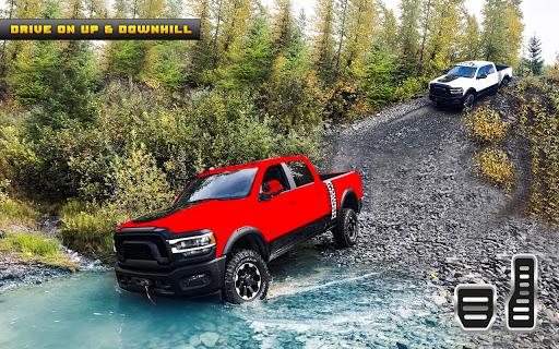Pickup truck driving game: truck driver simulator  screenshots 8