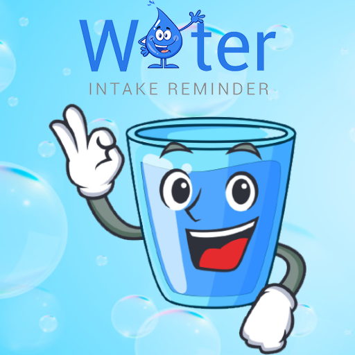 New water intake Reminder icon