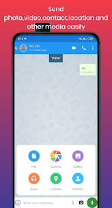 Bharti Chat – Chats, Groups, Video and voice calls 3