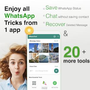 WhatsTool: Toolkit for WhatsApp (MOD APK, Pro) v2.1.2 2