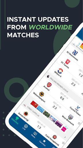live score – live football updates screenshot 1