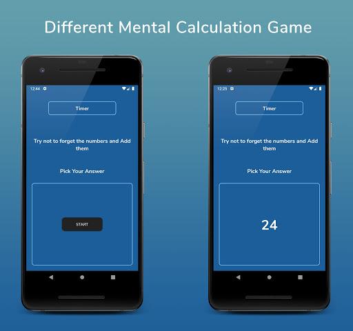 Mental Calculation speed : Calculation Training  screenshots 16