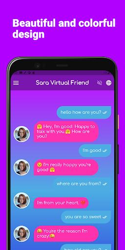 Sara Virtual Friend apktram screenshots 4