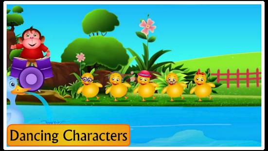 Kids Top Nursery Rhymes Videos - Offline Learning FiveLittle_v7.1 Screenshots 10
