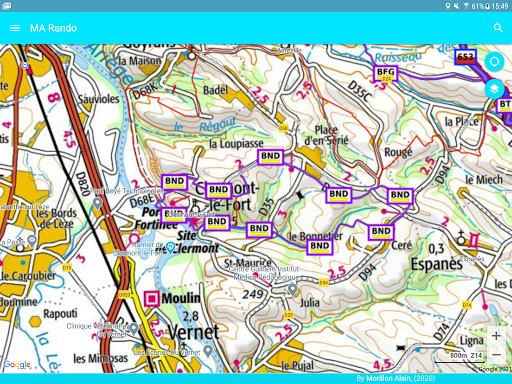 GPS for Hiking, Cycling, Hunting and offline maps modavailable screenshots 14