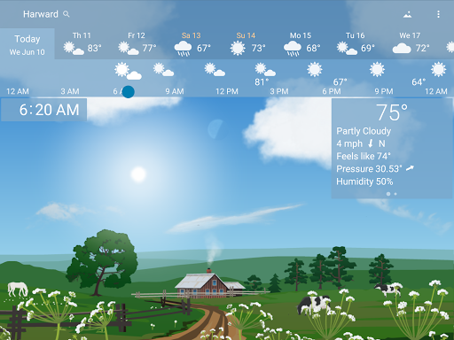 YoWindow - best weather app with live pictures 2.23.7 Screenshots 8