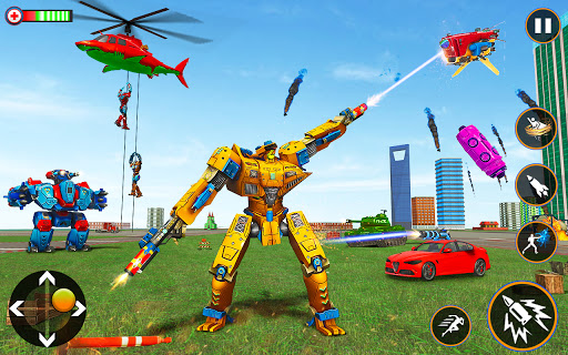 Monster Truck Robot Shark Attack u2013 Car Robot Game 2.1 screenshots 14