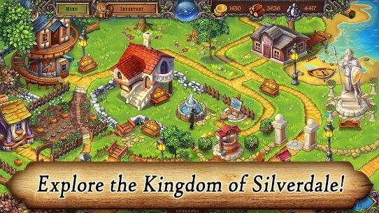 Runefall – Medieval Match 3 Adventure Quest (MOD, Unlimited Money) 1