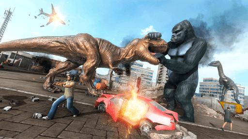 King Kong Games: Monster Gorilla Games 2021 android2mod screenshots 5