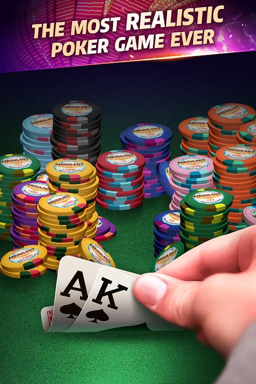 Mega Hit Poker: Texas Holdem  poster 0